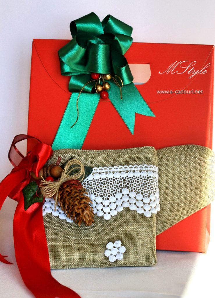 Cizmuliţe cadouri Crăciun 37 cm 1