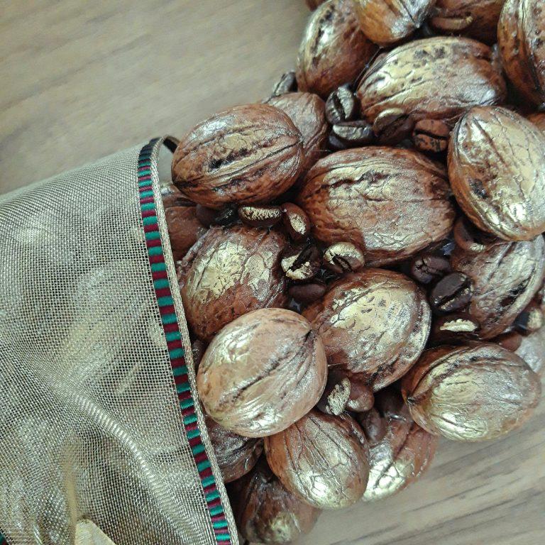 Coronita nuci si cafea detaliu