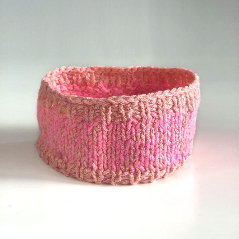 Bentiță roz 21 cm 1