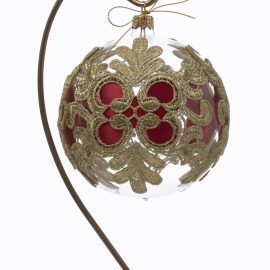 Globuri sticla decorate manual - PROMOTIE