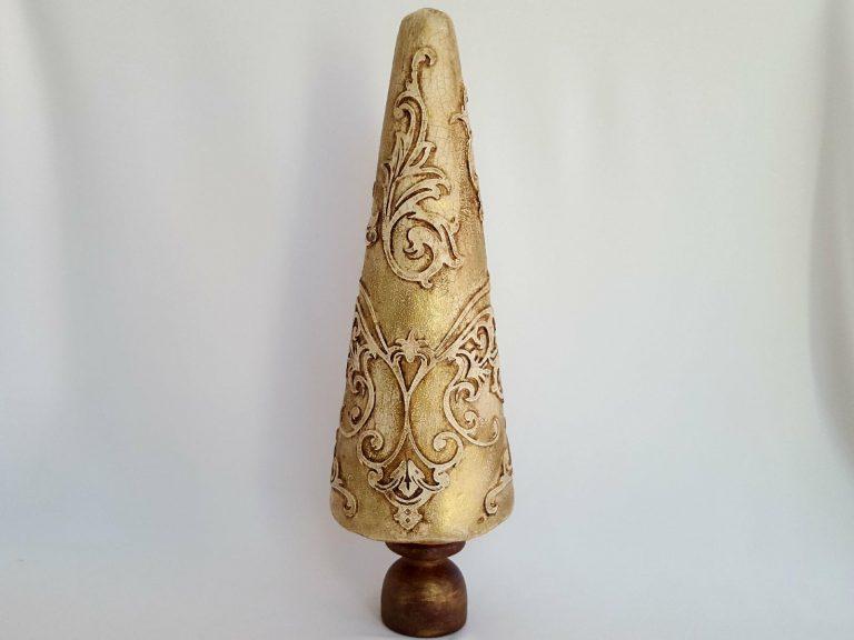 Decor Crăciun Brăduț vintage 30 cm