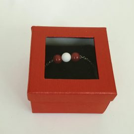 Bratara inox si perle