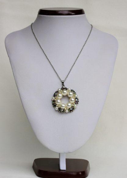 Colier perle swarovski
