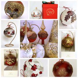 Globuri decor Crăciun