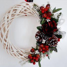 Coroniță Ornament Crăciun 30 cm