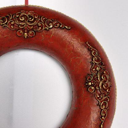 Coronita baroque 26 cm detaliu