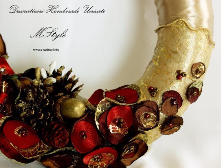 Cadouri Crăciun - Coroniță ușă/geam handmade 1