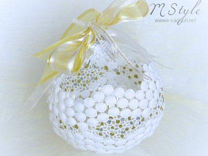 Decoratiuni Craciun-Globulet Snow ball