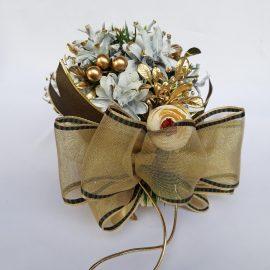 Sferă decor Crăciun 15 cm
