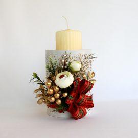 Decor Crăciun Lumânare 18 cm