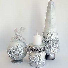 """Colectia """"White Silver Christmas"""""""