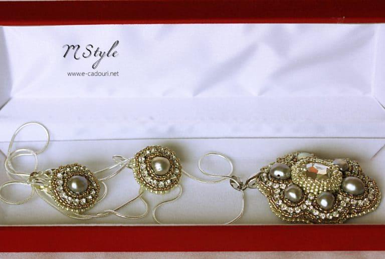 Set cristal Swarovski şi perle de cultură 4