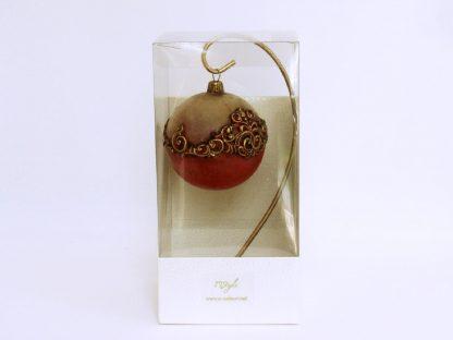 glob craciun 8 vintage red