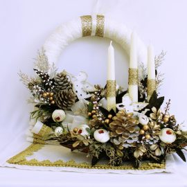 "Colectia ""White Golden Christmas"""