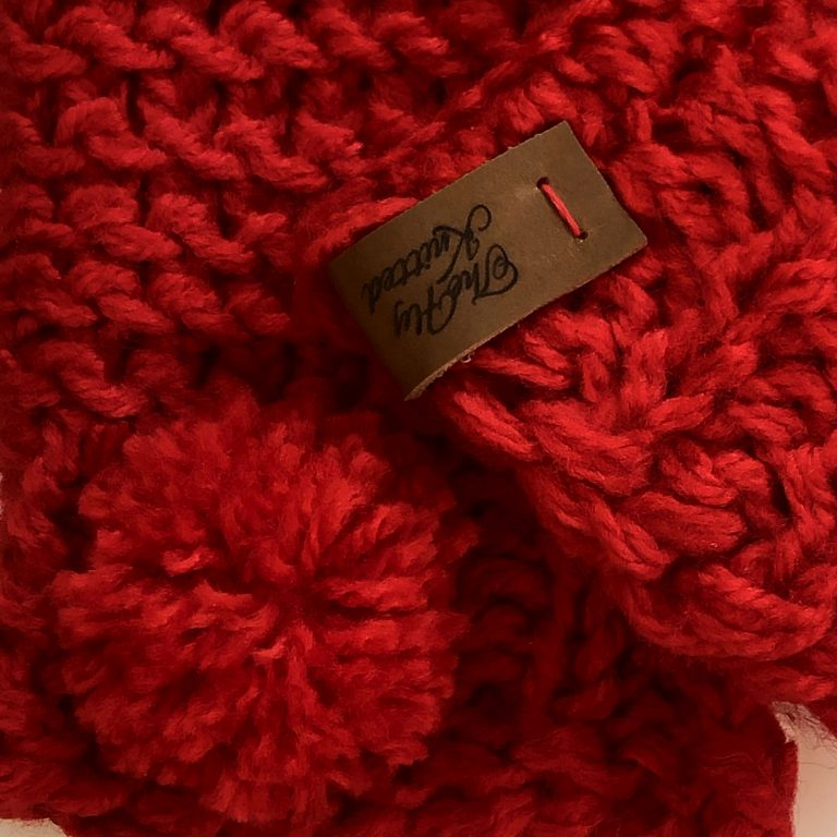 Mănuși roșii lungi cu deget galerie