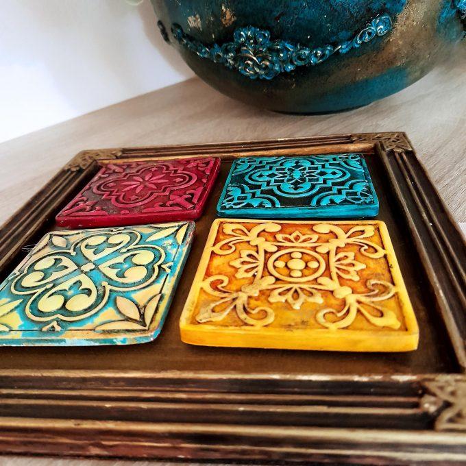 Tablou ceramică 225x225mm, TILE