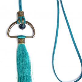 Colier fantezie turquoise